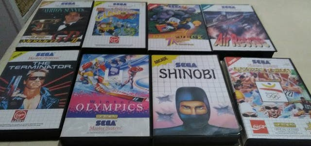 Juegos Sega Master System De Segunda Mano Por 75 En Castello