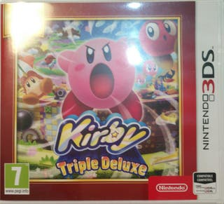 Juego 3DS - Kirby Triple DeLuxe