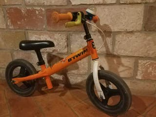 Bicicleta infantil sin pedales - Naranja