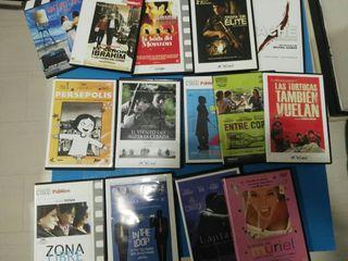 Cine independiente. 14 DVDs.