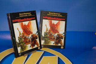 Dungeons & dragons Rol manual monstruoso tomo I II