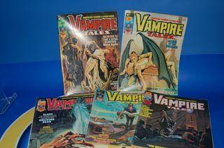 Lote de Comics Usa-edicion americana VAMPIRE TALES