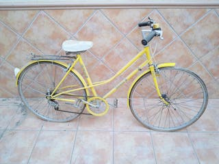 bicicleta mujer paseo cambio 5 velocidades