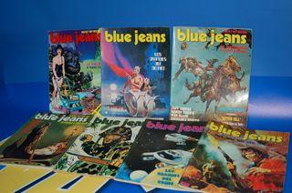 Lote de comics super BLUE JEANS-7 numeros