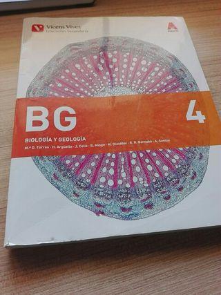 Libro de texto de Biología y Geología