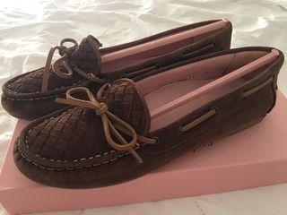 Pretty loafers tailla 38 marrón /pretty ballerinas