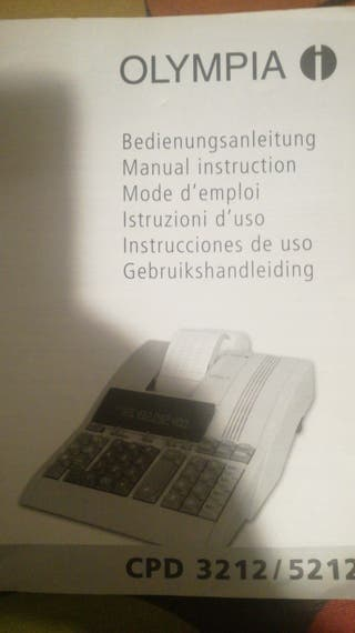 Calculadora profesional Olympia CPD 5212