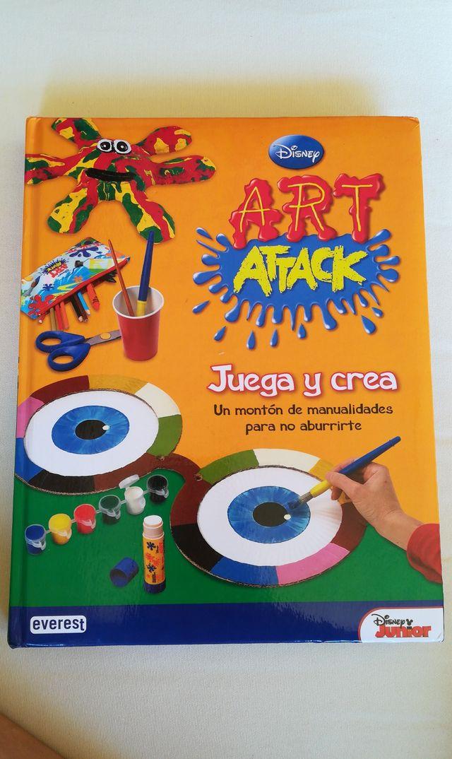 Libro De Manualidades Art Attack De Segunda Mano Por 8 En Madrid