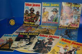 Lote de comics BLUE JEANS-10 numeros buen estado