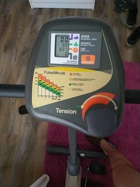 bicicleta estatica bh fitness proaction