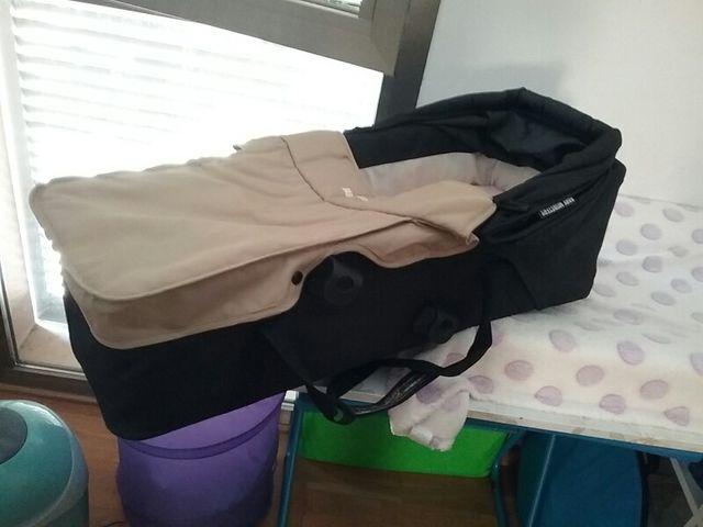 1 capazo carrito bebe