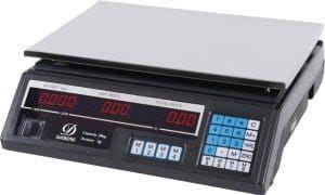 balanza bascula peso negra 40kg digital