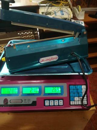 rosa bascula balanza 40kg nuevas