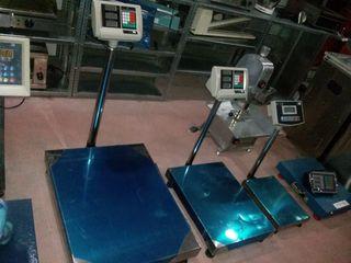 balanza bascula plataforma 800kg nuevas