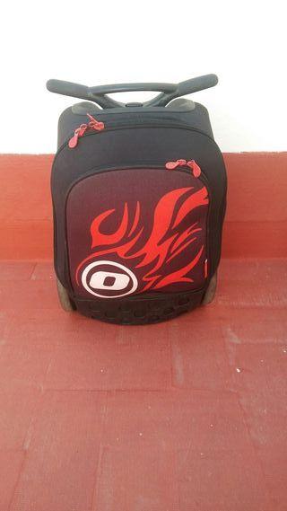 mochila escolar trolley nikidom roller
