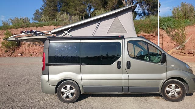 Renault Trafic generation techo elevable