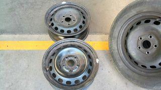 ruedas completas 195 65 15 con llanta acero