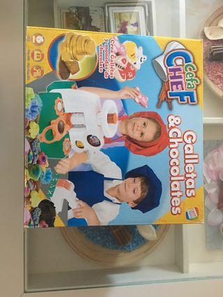 Juego infantil galletas & Chocolate