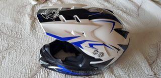 casco infantil moto o quad