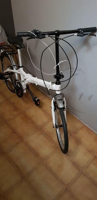 Bicicleta plegable de ALUMINIO,ligera