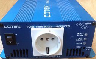 Inversor corriente 600W