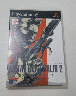 leti Ps2 METAL GEAR SOLID 2 SONS OF LIBERTY