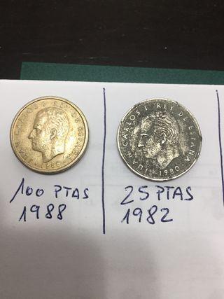 Vendo pack de monedas antiguas españolas