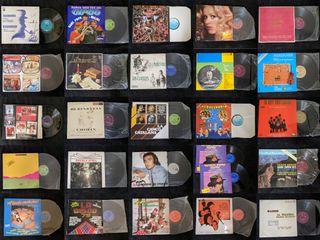 Colección de discos de vinilo (62 artículos)