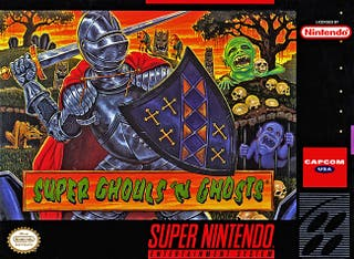 Super Ghouls'n Ghosts SNES