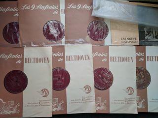 "Discos de vinilo x7 ""9 Sinfonias de Beethoven"""