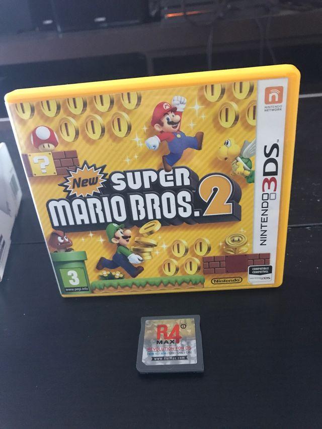 Juego New Super Mario Bros 2 Para Nintendo 3ds De Segunda Mano Por