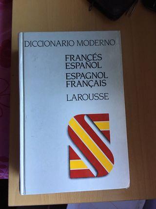 Diccionario moderno LAROUSSE francés español