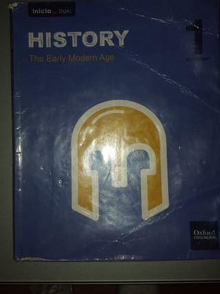 libro de historia de 1 de la eso