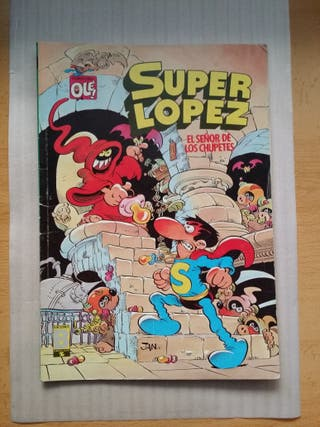 comic super López antiguo, impecable,coleccionista