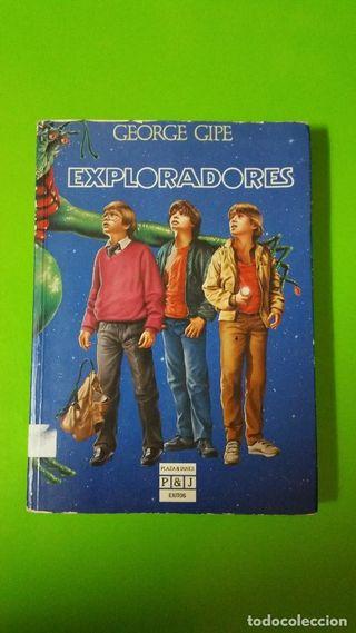 Libro Exploradores edita Plaza y Janés