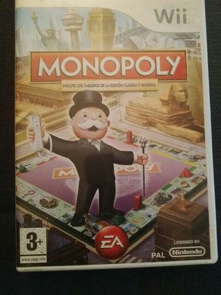 videojuego monopoly wii