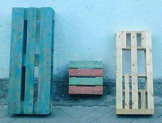 SET PALETS ORIGINALES, muebles y decoración