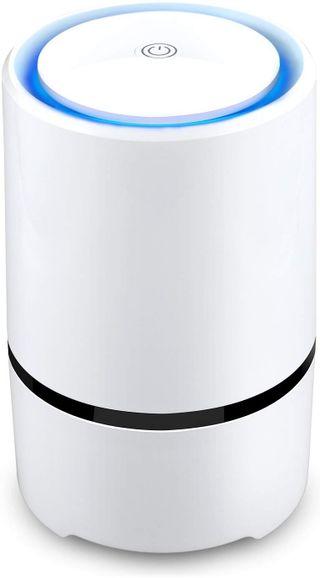 Purificador de aire con filtros