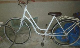 bicicleta con freno de varillas