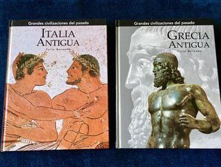 2 libros de Grecia/Roma antigua
