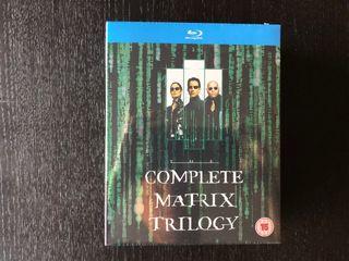 Trilogía Matrix Bluray (Versión Original)