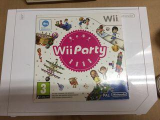 Wii consola juegos