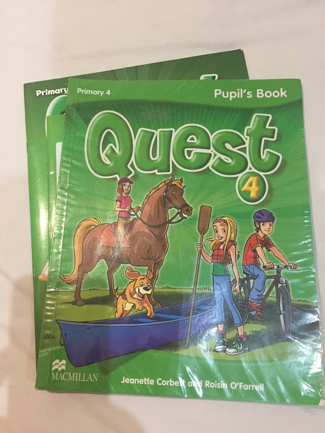 Libro de inglés cuarto de primaria de segunda mano por 10 € en El ...