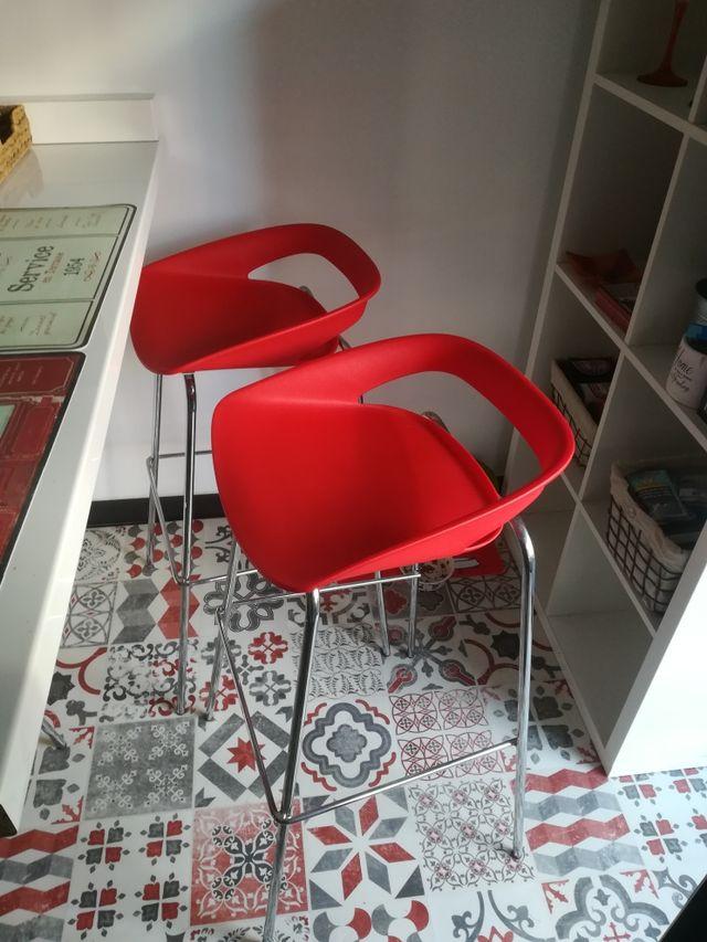 3 sillas cocina diseño de segunda mano por 90 € en Sant Feliu de ...