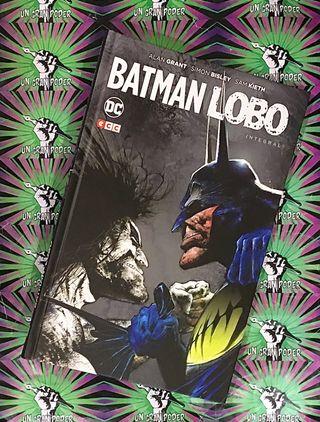 BATMAN VS LOBO INTEGRAL ECC