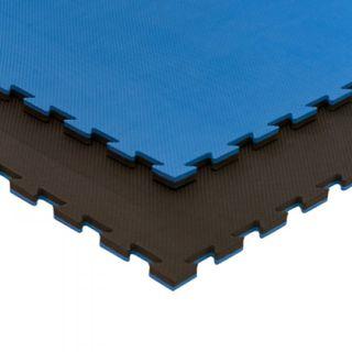 Tatami 2cm negro/azul