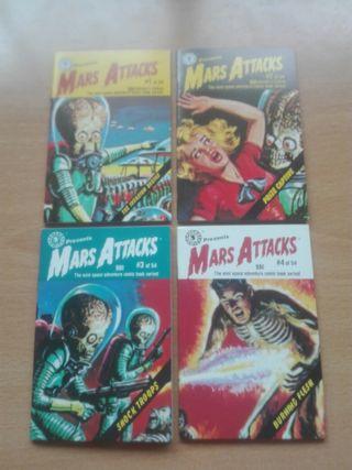 Colección de cómics Mars Attacks