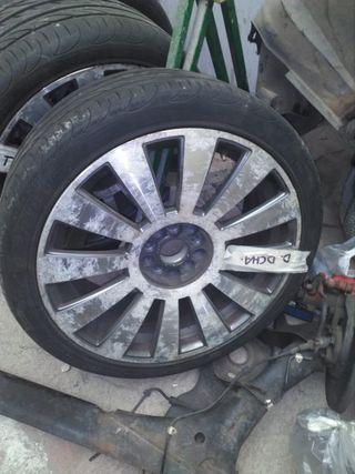 Llantas Audi originales con tapas