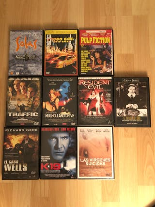 Películas DVD lote 10 películas + 1 de regalo