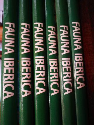 5 Libros Fauna Ibérica (Felix Rodriguez)